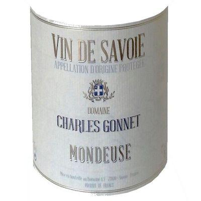 Vin rouge de Savoie AOC Mondeuse Charles Gonnet, 75cl
