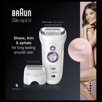 Braun Epilateur Braun Silk Epil Ses9-710 -