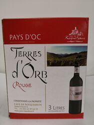 IGP Pays d'Oc - Cave de Roquebrun - Terres d'Orb - BIB 3L