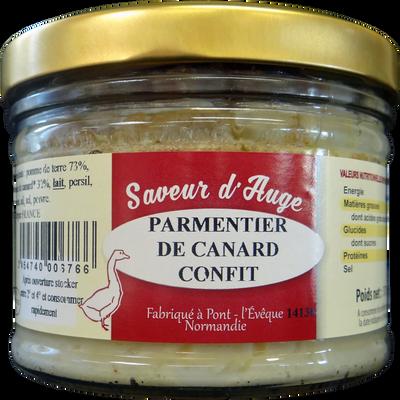 Parmentier de canard confits SAVEUR D'AUGE, 370g