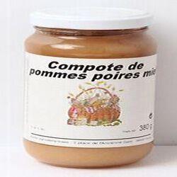 Compote pommes poires, Atelier technologique, 380g