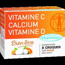 Vitamine C, calcium et vitamine D