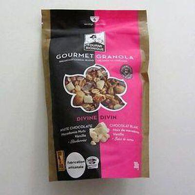 Mélange de céréales gourmet granola Divin FOURMI BIONIQUE,300g