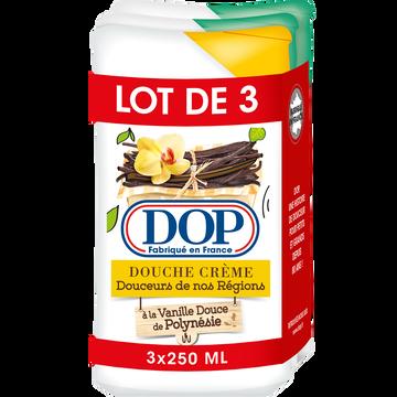 LU Gel Douche Région (1 Vanille/2 Amande) Dop 3x250ml