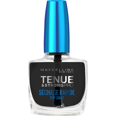 Vernis à ongles tenue&strong sèche vite top coat GEMEY MAYBELLINE