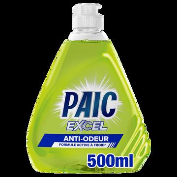 Paic  Liquide Vaisselle Anti-odeur Paic Excel 500ml