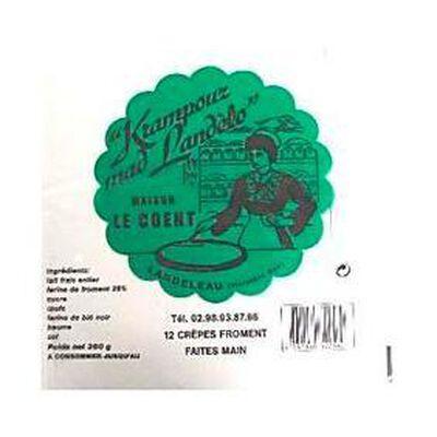12 Crêpes Krampouz Mad'Landelo Crêperie Le Coent-Moreau, 360g