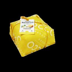 Panettone au gingembre citron et chocolat blanc BALOCCO, 750g