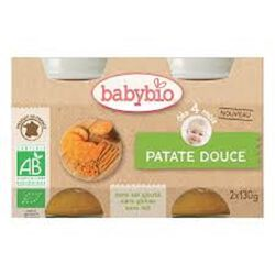 BABYBIO Patate douce 2X130 GRS