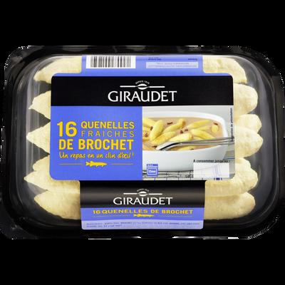 Quenelles de brochet GIRAUDET, 16x20g
