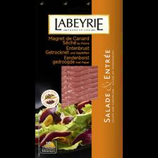Magret de canard séché prêt à vendre LABEYRIE, 90g
