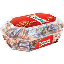 Assortiment chocolat au lait CELEBRATIONS, boîte diamant de 288g