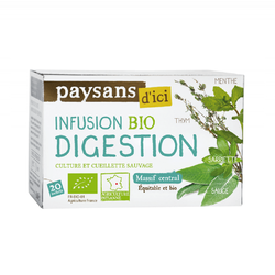 Infusion digestion Massif Central BIO ETHIQUABLE 30g