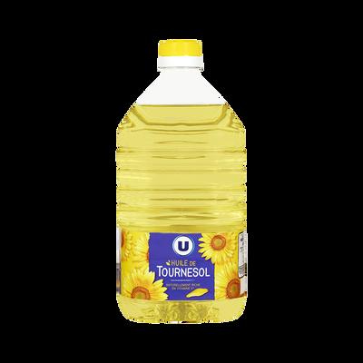 Huile de tournesol U, bidon de 2 litres