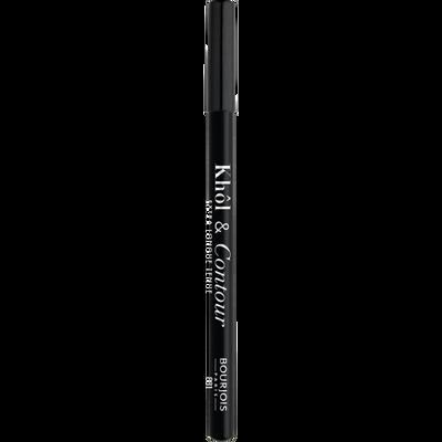 Crayon khôl & contour 2 en 1 01 noir-issime BOURJOIS