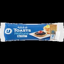Toasts ronds au froment U, paquet de 280g