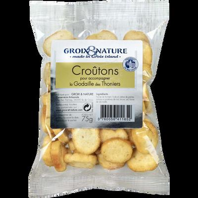 Croutons croustillants GROIX ET NATURE, 75g
