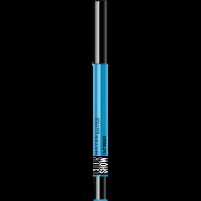 Crayon khôl colorshow 210 turquoise GEMEY MAYBELINE, nu