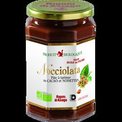 Pâte à tartiner Nocciolata bio RIGONI DI ASAIGO, pot en verre de 700g