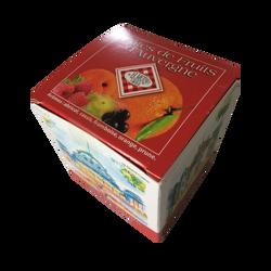 Pâtes de fruits d'Auvergne cube panorama MOINET, boite 220g