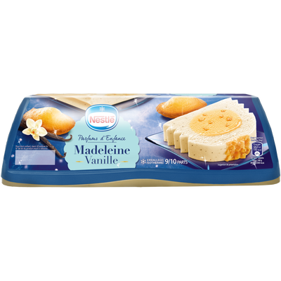 Bûche glacée vanille madeleine NESTLE, 540g