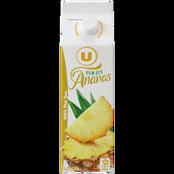 Pur jus réfrigéré d'ananas U, 1l