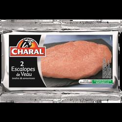 Escalope de veau *** à griller, CHARAL, France, 2 pièces