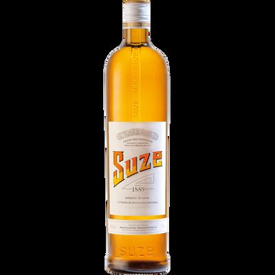 Apéritif à la gentiane SUZE, 15°, bouteille de 1l