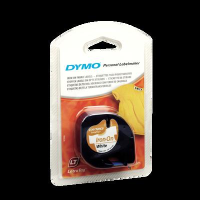 Ruban pour marquage des vêtement DYMO, blanc, 1 cassette