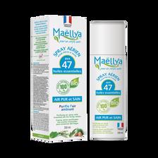 Spray assainissant aux 47 huiles essentielles air pur et sain MAELLYA,flacon 200ml