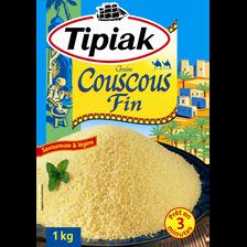 Couscous fin prêt en 3 minutes TIPIAK, 1kg