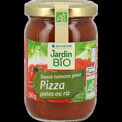 Sauce tomate cuisinée aux olives pates/riz/pizza bio JARDIN BIO200g