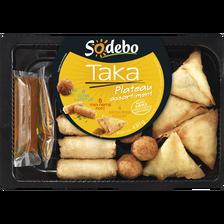 Sodeb'O Assortiment Asiatique Taka , 430g + Sauces