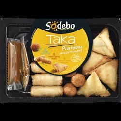 Assortiment asiatique Taka SODEBO, 430g + sauces