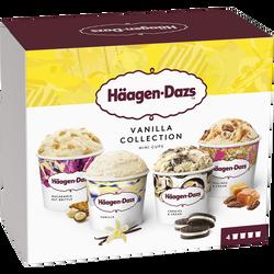 Minicups vanilla collection HAAGEN DAZS, 321g