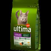 Ultima Croquettes Pour Chat Stérilisés Au Saumon Ultima, 1,5kg