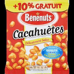 Cacahuètes grillées salées BENENUTS paquet 410g+10% offert