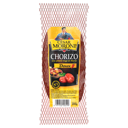 Chorizo doux supérieur pur porc MORONI, 200g