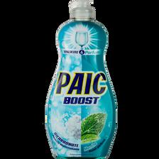 Liquide vaisselle bicarbonate & menthe, PAIC, boost, flacon de 500ml