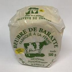 BEURRE DE BARATTE 500GR..