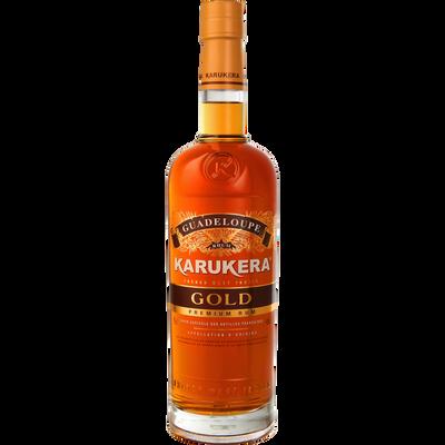 Rhum gold KARUKERA? 40°, bouteille de 70cl
