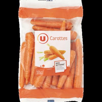Carotte, U, France, sachet 1kg
