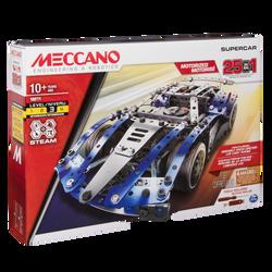 Meccano - Supercar 25 modèles - Dès 8 ans