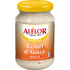 Raifort doux d'Alsace ALELOR, 200g
