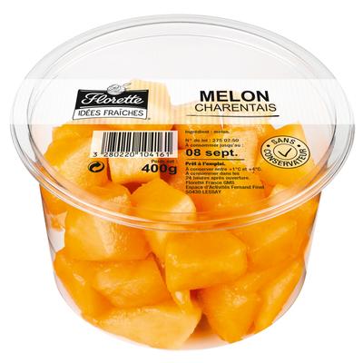 Melon charentais, FLORETTE, barquette 400g