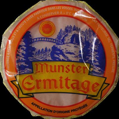 Munster AOP 27% de matière grasse ERMITAGE, 200g