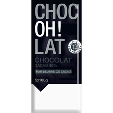 Tablettes de chocolat, 5 unités, 100g