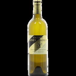 """Vin blanc Pessac Leognan grand AOC """"CHATEAU LATOUR MARTILLAC"""", bouteille de 75cl"""