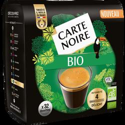 Cafédélicat Bio intensité 4 CARTE NOIRE, x32, 205g