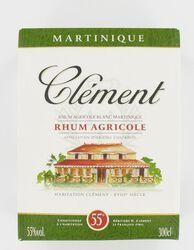 Rhum agricole blanc CLEMENT, cubi 3l